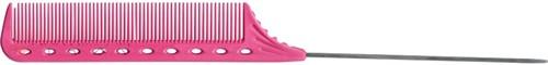 Парикмахерская расческа Y.S.Park YS-102-07 розовая - фото 12078