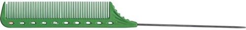 Парикмахерская расческа Y.S.Park YS-102-10 зеленая - фото 12080