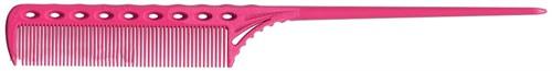 Парикмахерская расческа Y.S.Park YS-107-07 розовая - фото 12083