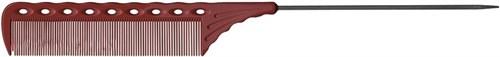 Парикмахерская расческа Y.S.Park YS-116-08 красная - фото 12089