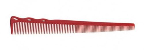 Парикмахерская расческа Y.S.Park YS-254-08 красная - фото 12096