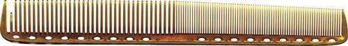 Парикмахерская расческа Y.S.Park YS-335-06 янтарная - фото 12113