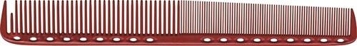 Парикмахерская расческа Y.S.Park YS-335-08 красная - фото 12115