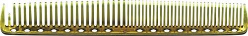 Парикмахерская расческа Y.S.Park YS-337-06 янтарная - фото 12124