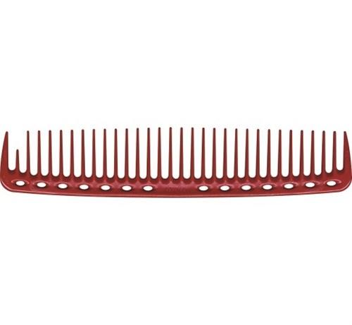 Парикмахерская расческа Y.S.Park YS-402-08 красная - фото 12144