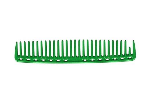 Парикмахерская расческа Y.S.Park YS-452-10 зеленая - фото 12146