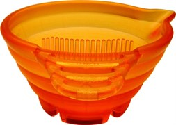 Парикмахерская мисочка для краски Y.S.Park YS CK-1-28 оранжевая