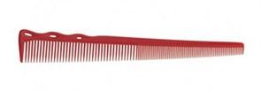 Парикмахерская расческа Y.S.Park YS-254-08 красная