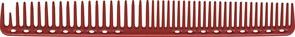 Парикмахерская расческа Y.S.Park YS-333-08 красная