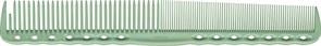 Парикмахерская расческа Y.S.Park YS-334-10 зеленая