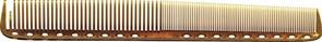 Парикмахерская расческа Y.S.Park YS-335-06 янтарная