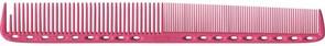 Парикмахерская расческа Y.S.Park YS-335-07 розовая