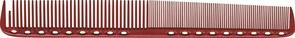 Парикмахерская расческа Y.S.Park YS-335-08 красная