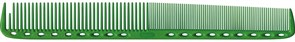 Парикмахерская расческа Y.S.Park YS-335-10 зеленая