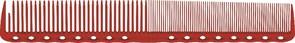 Парикмахерская расческа Y.S.Park YS-336-08 красная