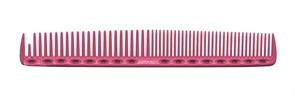 Парикмахерская расческа Y.S.Park YS-337-07 розовая