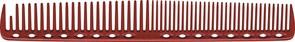 Парикмахерская расческа Y.S.Park YS-337-08 красная