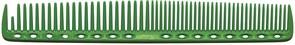 Парикмахерская расческа Y.S.Park YS-337-10 зеленая