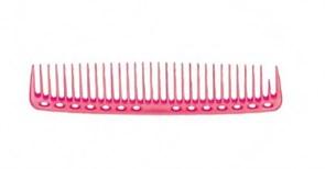 Парикмахерская расческа Y.S.Park YS-402-07 розовая