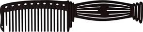 Парикмахерская расческа Y.S.Park YS-606-01 черная