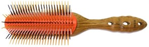 Стайлер Wood Styler Brush 9 рядов